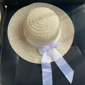 Pick your color! Summer Straw Hats With Ribbon Bow